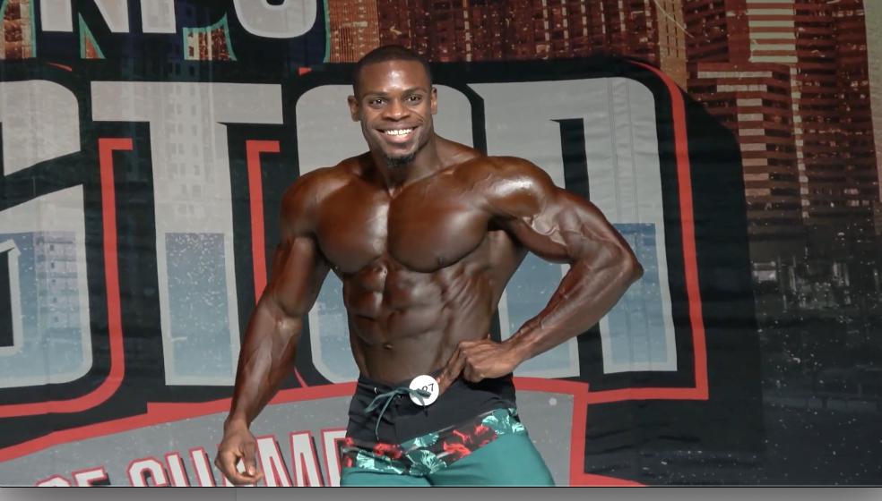 2021 Ifbb Houston Tournament Of Champions Men S Physique Winner Khali Quartey Npc News Online