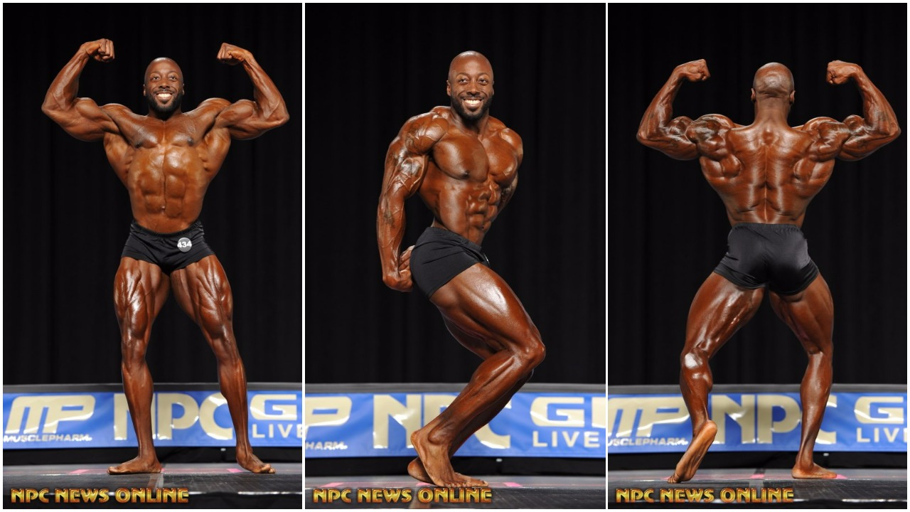 51386d8194b054 2016 NPC Nationals Men s Classic Physique Competitor George Peterson Placed  3rd In The 2017 Olympia
