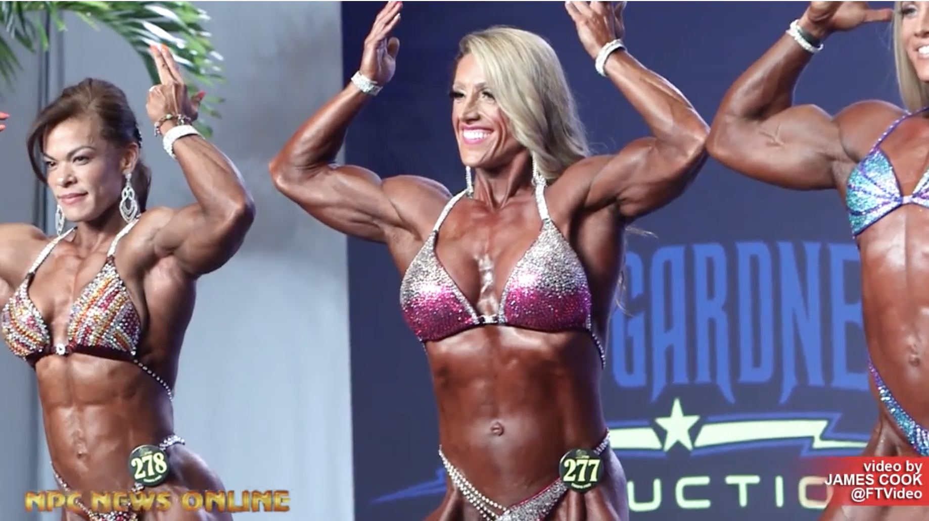 2019 IFBB Tampa Pro Women's Physique Show Video