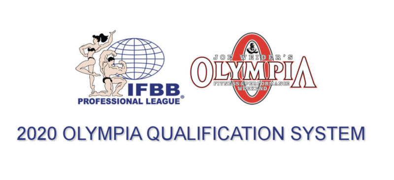 Mr Olympia 2020 Schedule 2020 Olympia Qualification System | NPC News Online