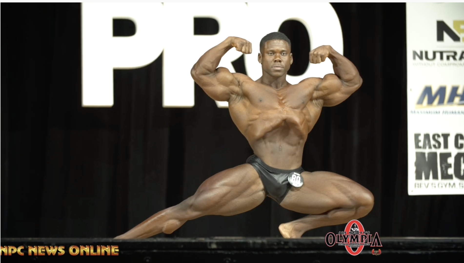 2019 IFBB NY Pro Men's Classic Physique Winner Keone Pearson